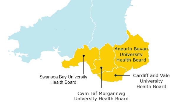 Cardiff site area