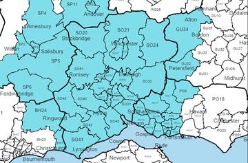 Southampton area